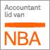 NBA Koninklijke Nederlandse Beroepsorganisatie van Accountants (fusie-organisatie van het Koninklijk Nederlands Instituut voor Registeraccountants en de Nederlandse Orde van Accountants-Administratieconsulenten)